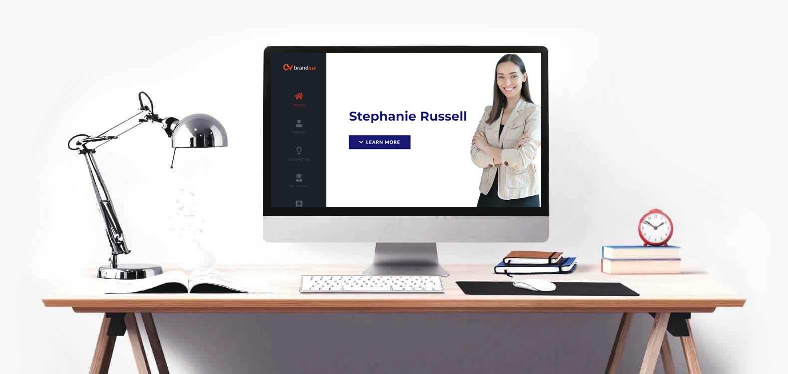 CV Template Stephanie Russell
